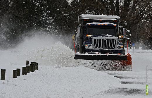 В США девять человек погибли из-за сильнейших снегопадов