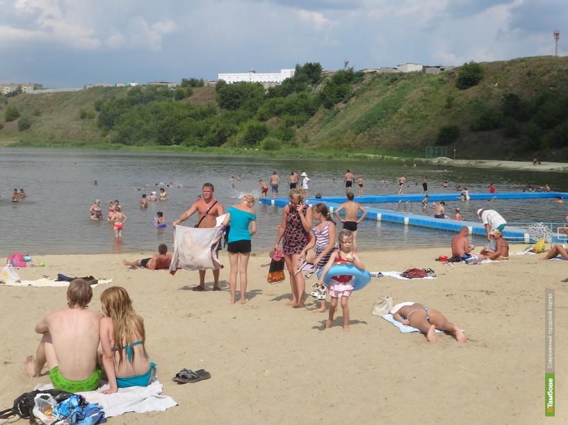 В Мичуринске юный купальщик остался без телефона
