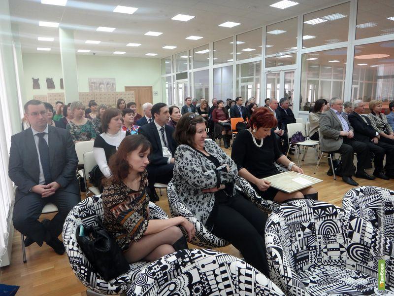 В Тамбове чествовали журналистов со всей области