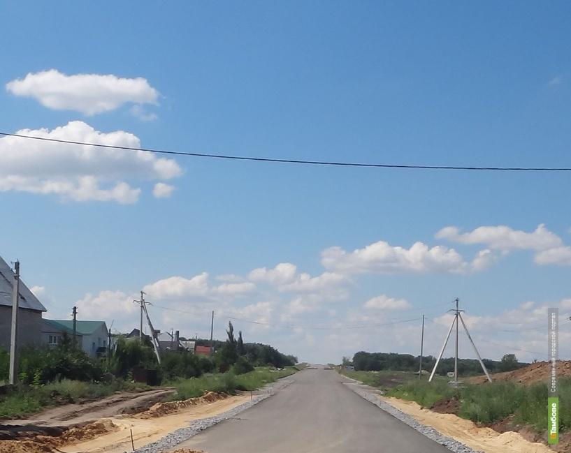 В 18 тамбовских селах впервые появятся асфальтированные дороги