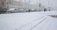 В Тамбове из-за снегопада парализовано дорожное движение