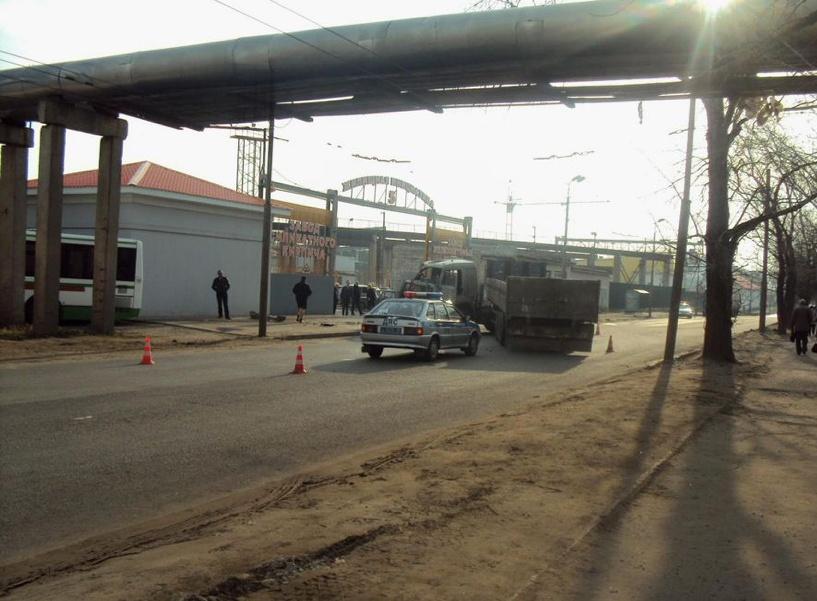 В Тамбове автобус въехал в стену здания