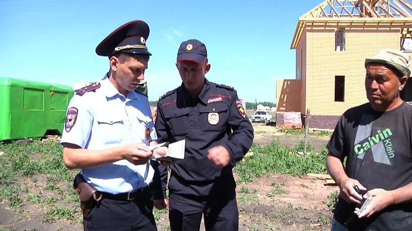 Тамбовские полицейские устроили рейды по нелегалам