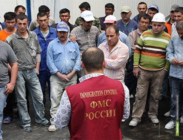 На Тамбовщине сократилось количество преступлений, совершённых мигрантами