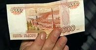 В Мучкапском районе мужчина украл у собутыльника 5 000 рублей