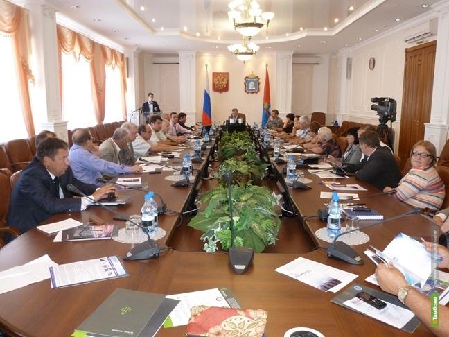 Тамбов посетили московские производители товаров для ЖКХ