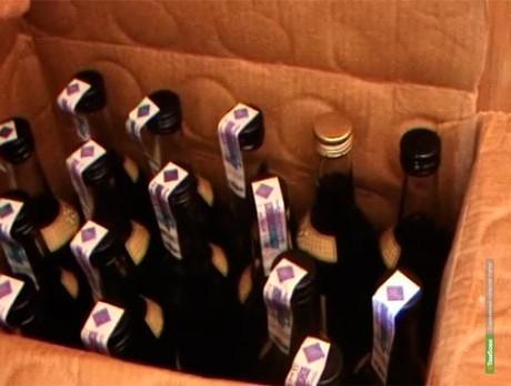 В Тамбове прикрыли очередную точку с «левым» спиртным