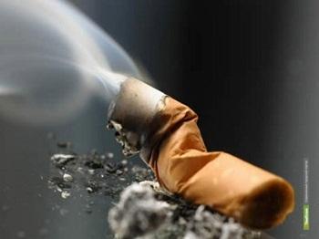 В Уваровском районе причиной пожара стала сигарета