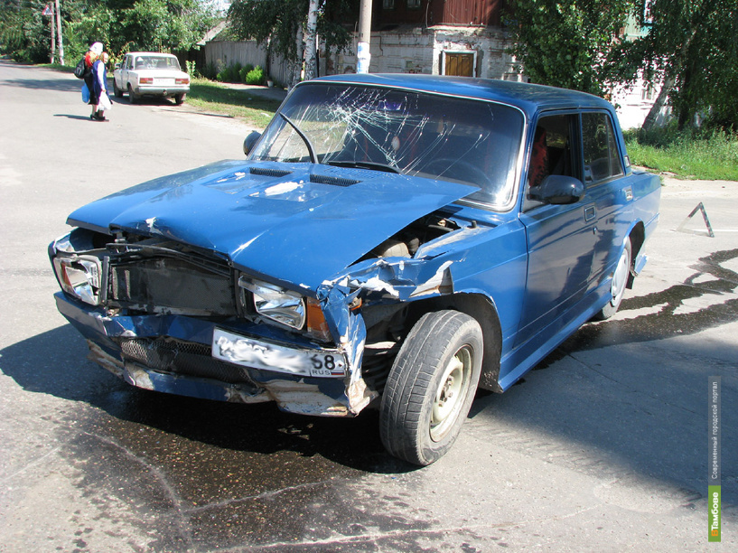 В Тамбовском районе за выходные пострадало 2 человека
