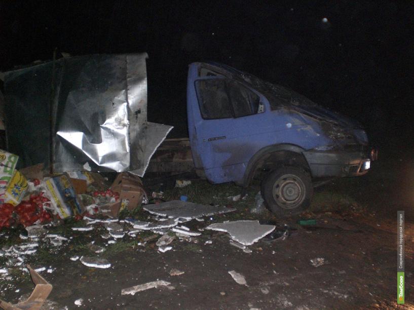 В Сампурском районе перевернулась грузовая «Газель»