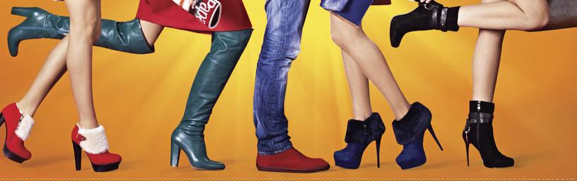 В магазине обуви «Фламинго» скидка на весь ассортимент
