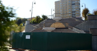 Ремонт Триумфальной лестницы на Набережной затянулся