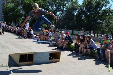 Тамбовские скейтбордисты во второй раз отметят профессиональный праздник