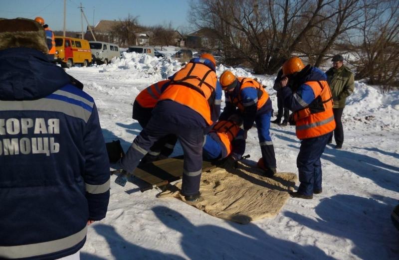 В Уваровском районе прошли противопаводковые учения
