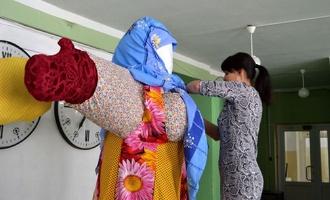 В Парке культуры к встрече весны уже готова Кукла Масленицы