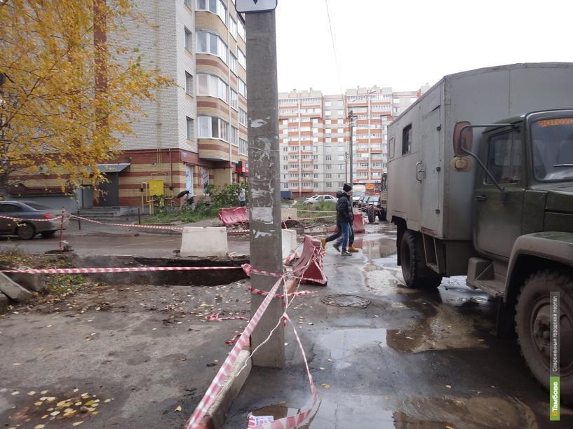 Подвал тамбовской многоэтажки залило кипятком