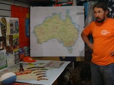 Александр Осипов готовится к последнему этапу своей кругосветки