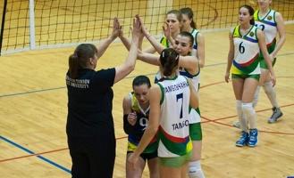 Тамбовские волейболистки уверенно обыграли соперниц из Белгорода