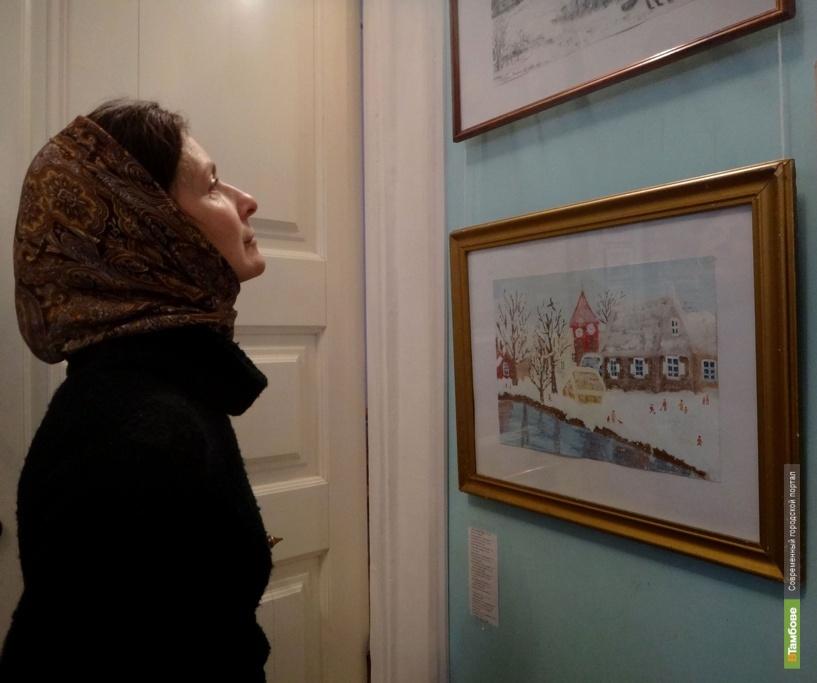 В картинной галерее пролился «Свет рождественской звезды»