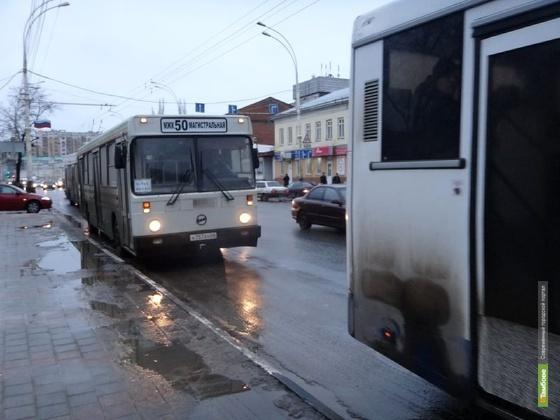 Каждый третий автобус в Тамбове загрязняет атмосферу