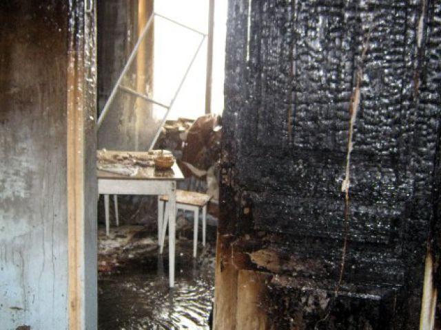 Мужчина погиб в пожаре после ссоры с супругой