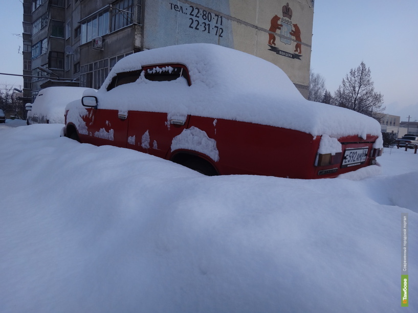 Сегодняшний мороз в Тамбове чуть-чуть не дотянул до местного рекорда