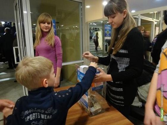 Тамбовчане собрали больным детям 14 тысяч рублей