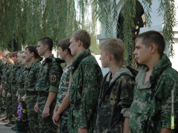 Тамбовчане заступили на «Вахту Памяти-2013»