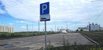 На севере Тамбова жители не пользуются бесплатной парковкой