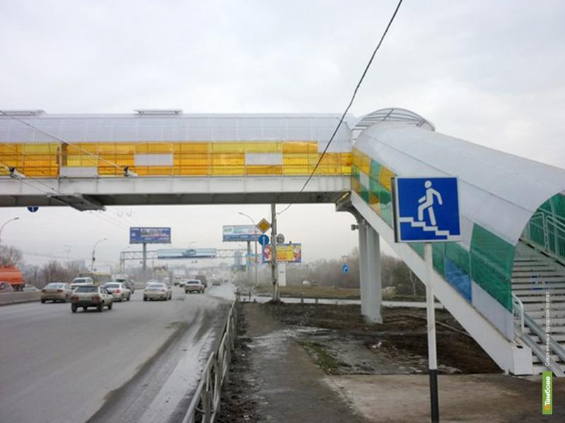 В Стрельцах построят надземный пешеходный переход