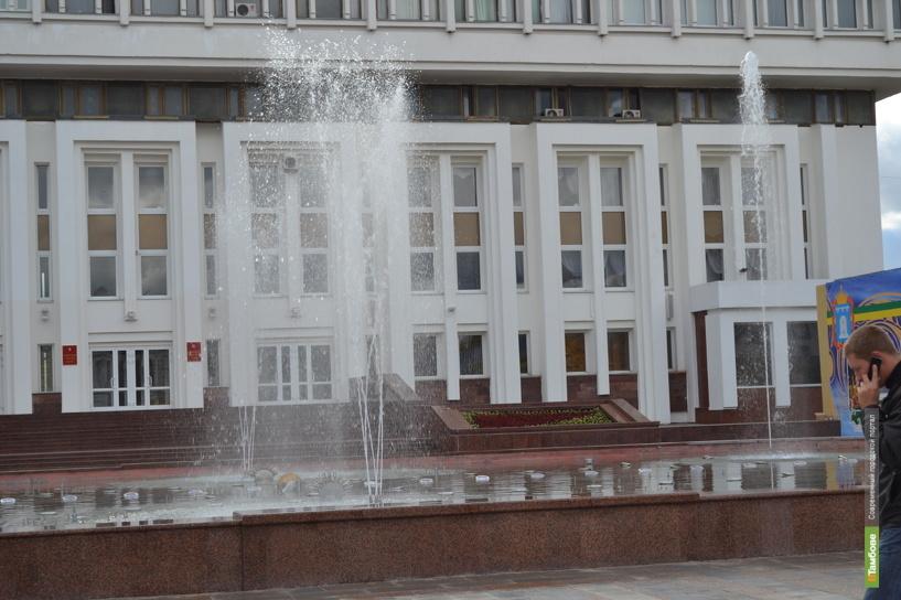 В Тамбове «умолк» новый фонтан