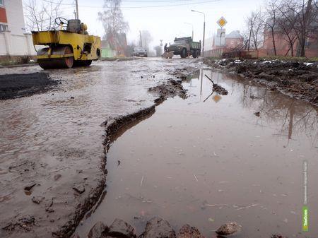 Губернатор распорядился привести в порядок тамбовские дороги