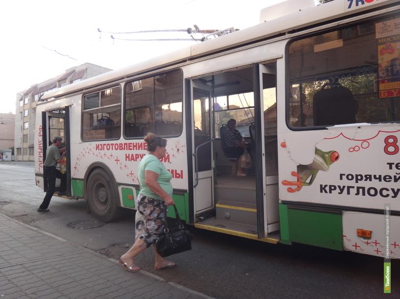 В Тамбове откроется школа по обучению водителей троллейбусов