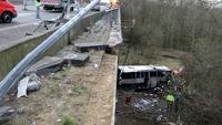 Автобус с российскими подростками разбился на севере Бельгии