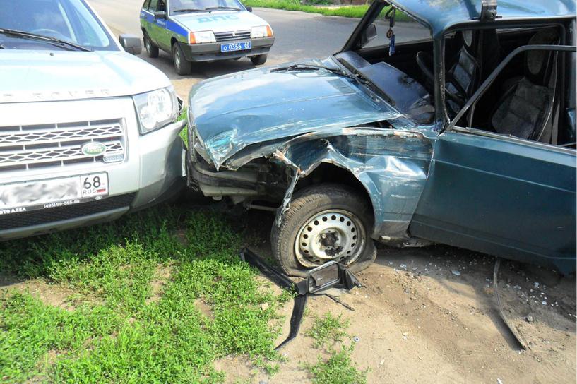 За неделю на дорогах Тамбовщины в ДТП пострадали восемь детей