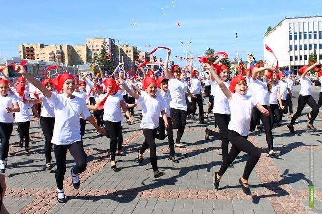 В День города на главной площади Тамбова устроят традиционное шествие