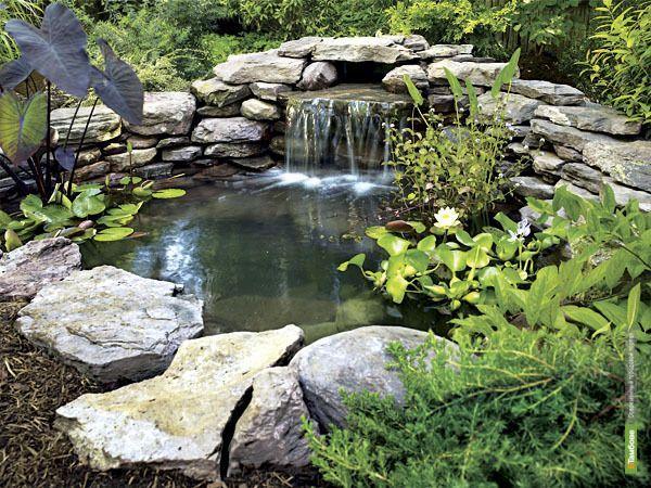 Водопады своими руками на даче фото