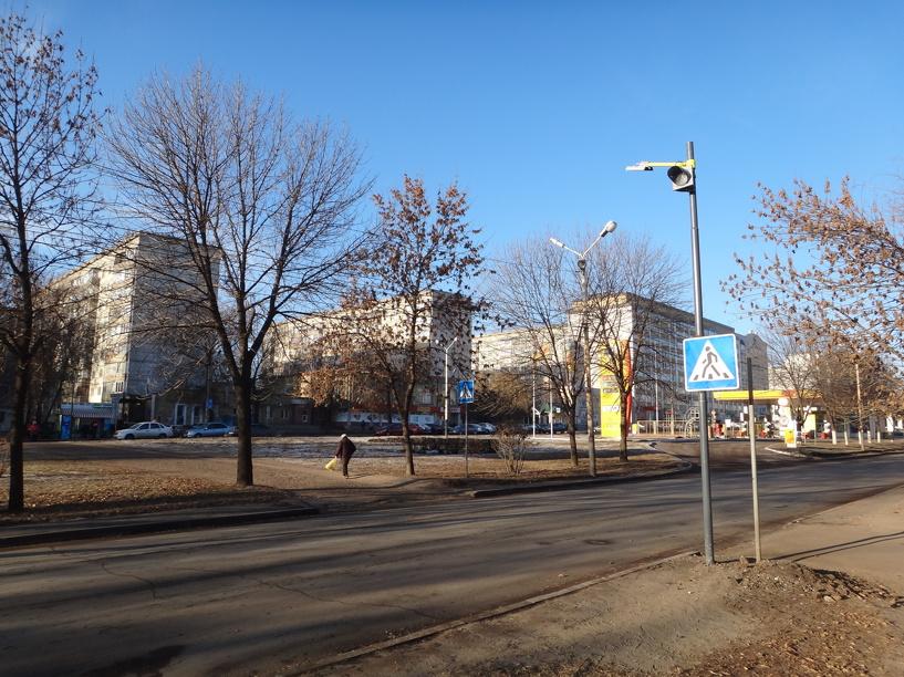 На улице Рылеева появился новый светофор