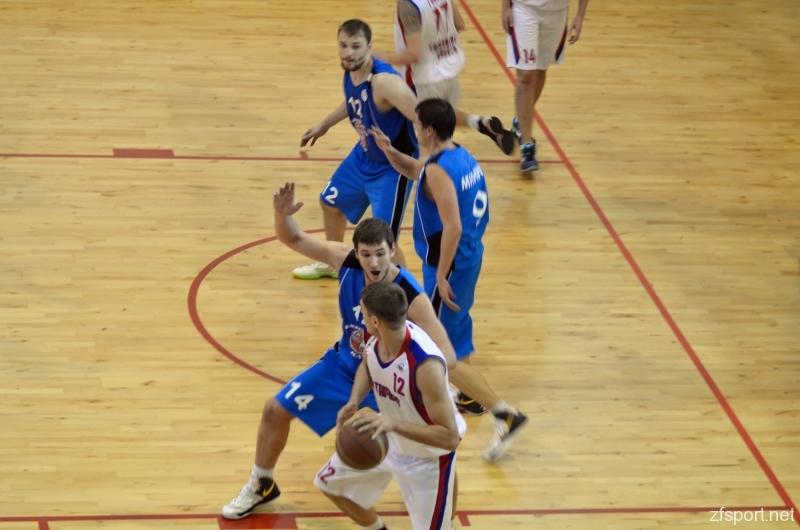 БК «Тамбов» обыграл соперников из Заречного