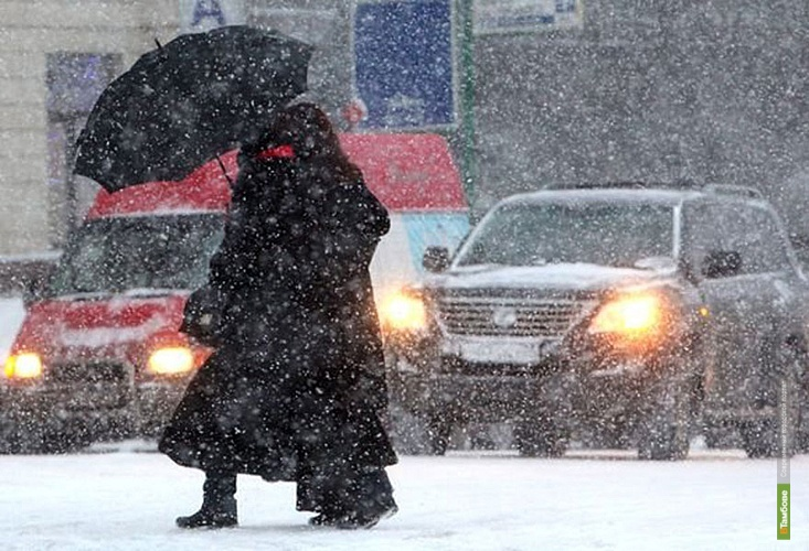 В Тамбове ещё трое суток будет идти снег