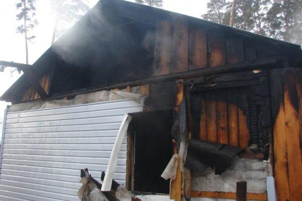 В Ржаксинском районе на пожаре погиб человек