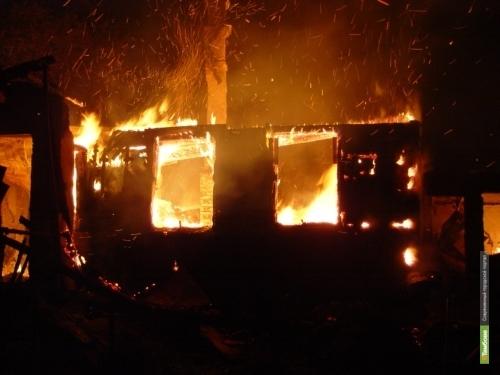 Тамбовские спасатели вынесли из огня жителя микрорайона Ласки