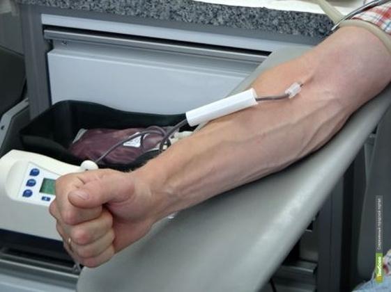 В Тамбове собирают кровь для онкобольных