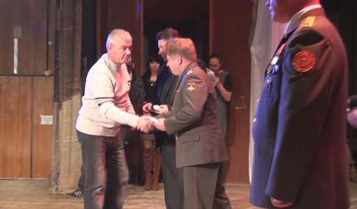 Мичуринским афганцам вручили медали