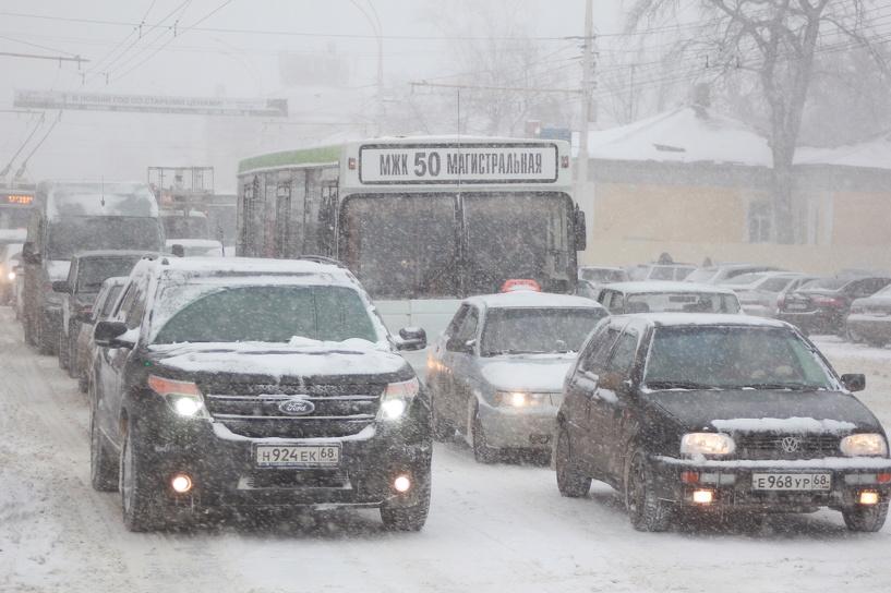 Автоинспекторы предупреждают о высокой аварийности на дорогах Тамбовской области