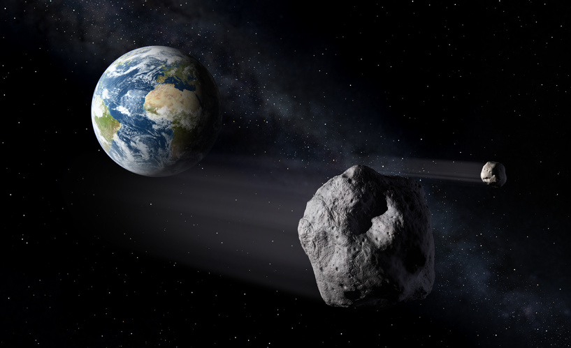 Рогозин заявил, что в России нет оружия против астероидов