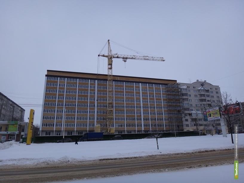 В Тамбове появится 600 тыс. кв. м жилья