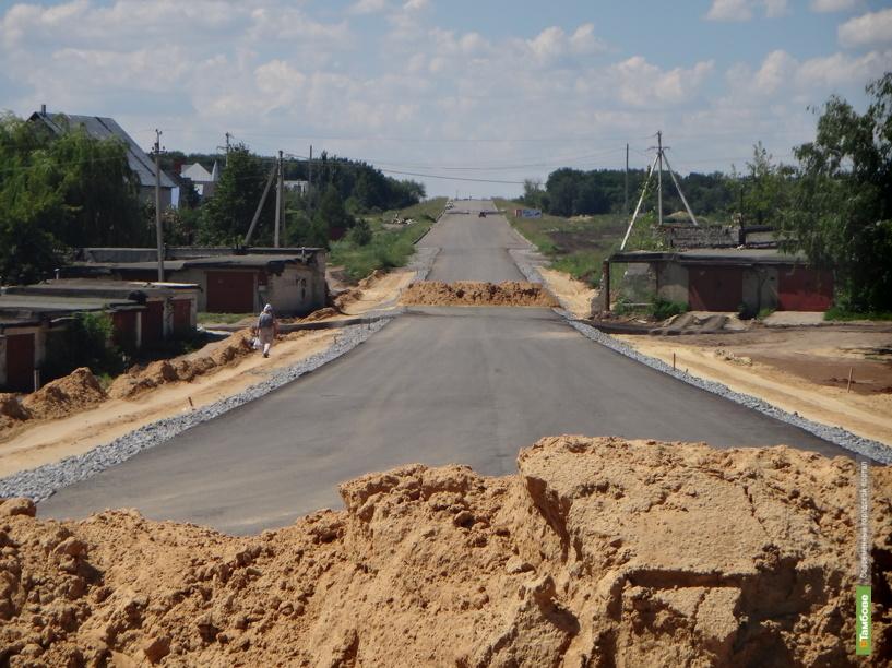В Тамбове никак не достроят магистральный путепровод