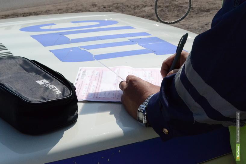 В Тамбовской области за выходные 57 водителей отстранили от управления авто
