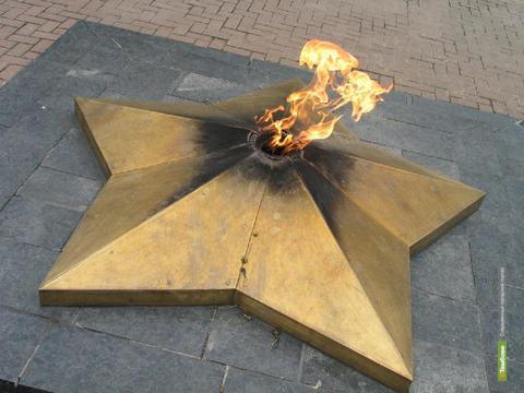 Тамбовчане зажгли еще один вечный огонь